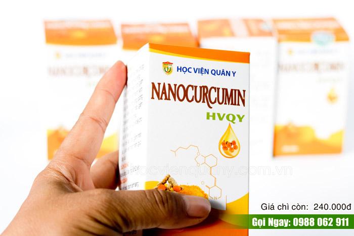 Giá bán và mua Nano Curcumin là bao nhiêu