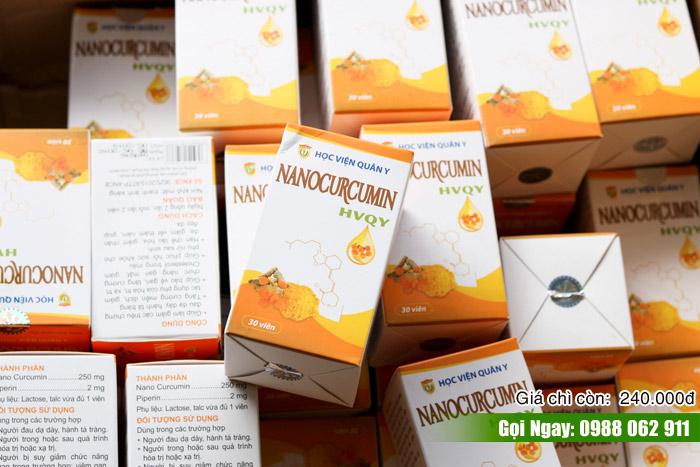 Viên uống Nano Curcumin mua ở đâu tại Hà Nội?
