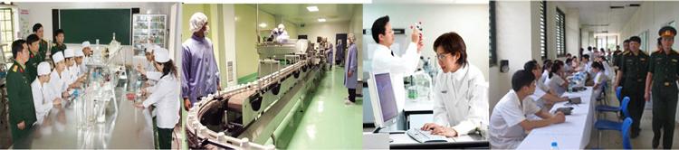 Trung tâm nghiên cứu sản phẩm học viện quân y